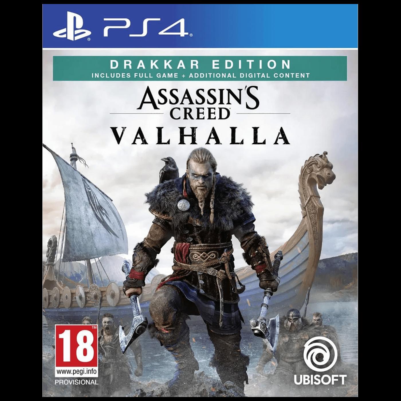 Igra PlayStation 4: Assassin's Creed Valhalla Drakkar Sp