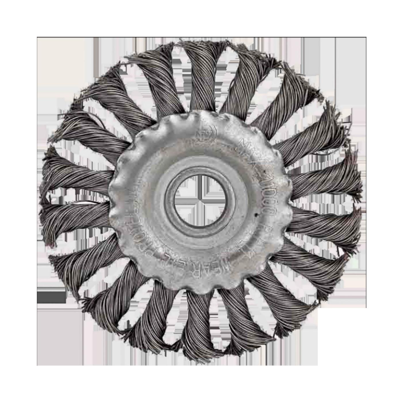 Četka čelična za brusilicu, 100 mm