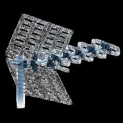 Antena UHF antena, 22 elementa, F/B ratio 28db, dužina 81cm