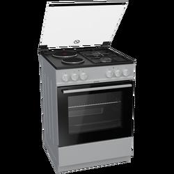 Kombinirani štednjak, pećnica 65 l, 5700W, bijeli