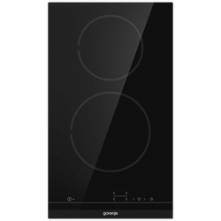 Ugradbena staklokeramička ploča za kuhanje, 30 cm, crna