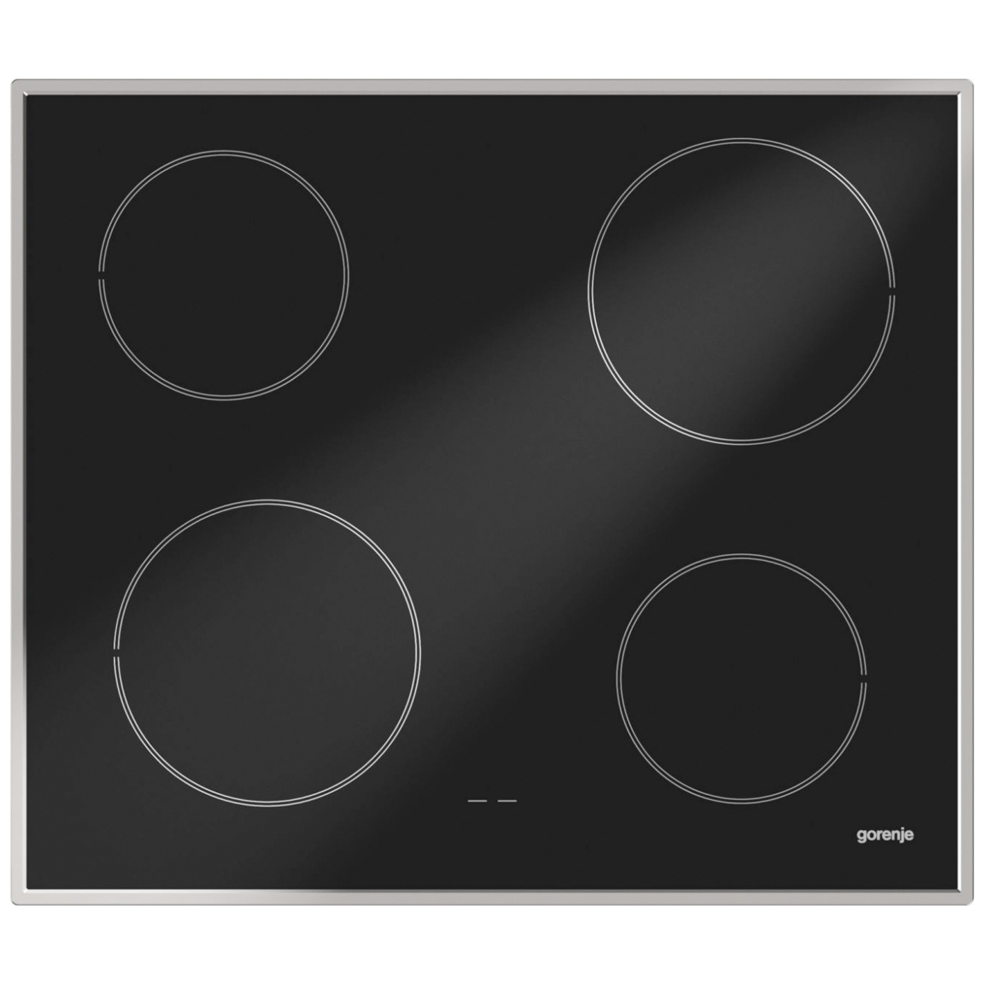 Ugradbena staklokeramička ploča za kuhanje, 6000W