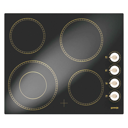 Staklokeramička ploča za kuhanje, 6400W