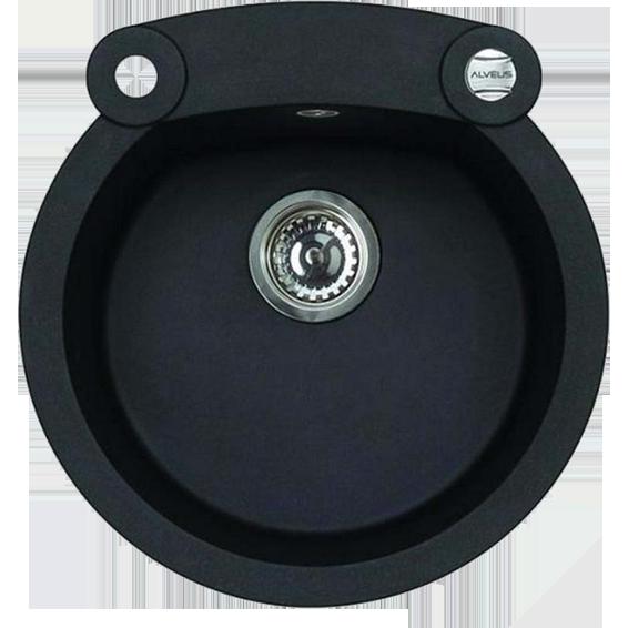 Sudoper ugradbeni, okrugli, 530x200x510,granital