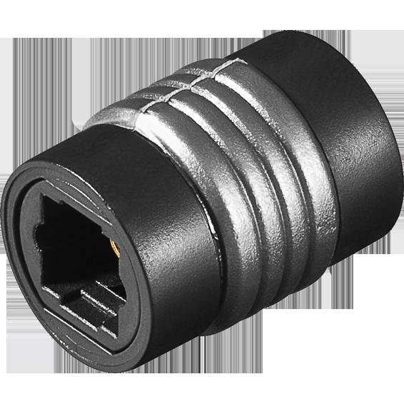 Adapter optički  toslink-Ž na toslink-Ž