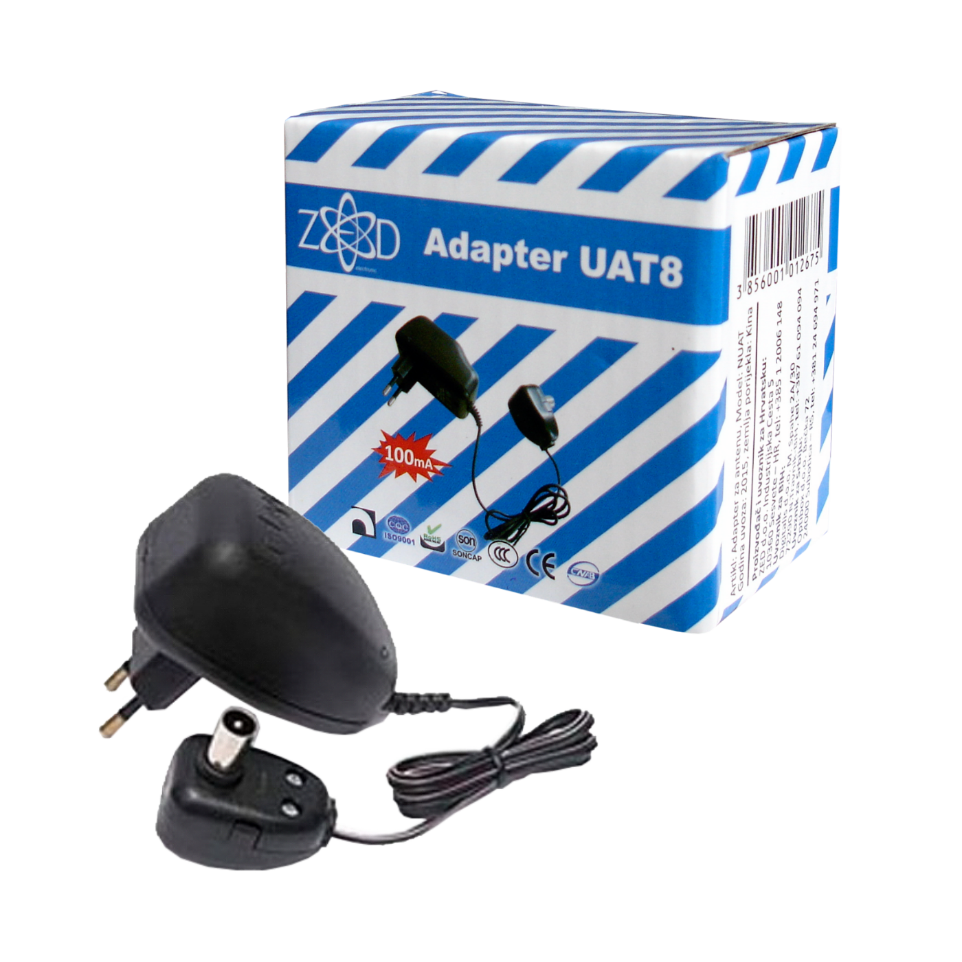 Adapter za UAT mrežaste antene