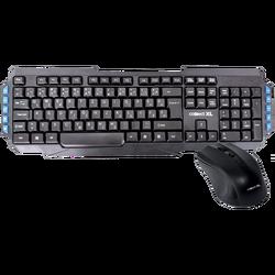 Tastatura + miš, bežični set, 2.4GHz