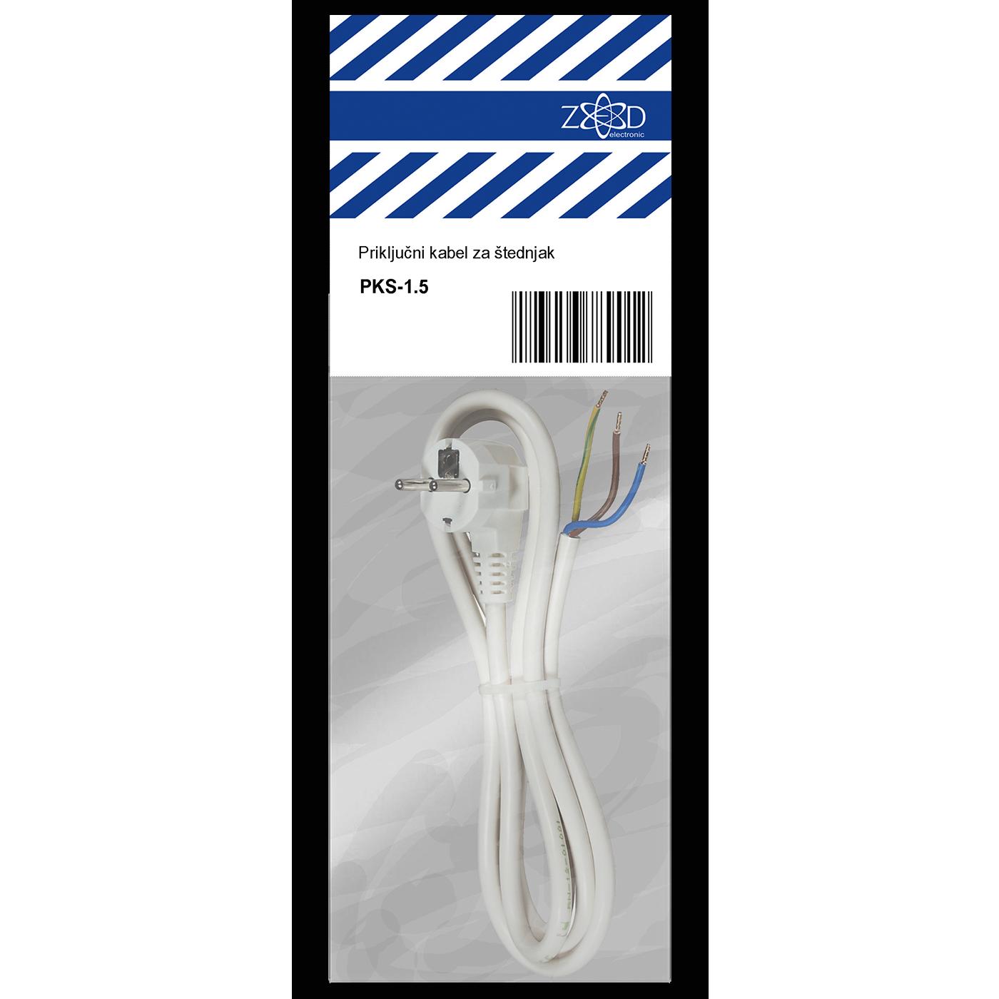 Priključni kabl za štednjak 1,5 metar