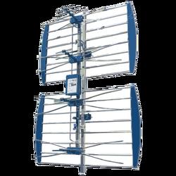 Antena mrežasta, UHF/VHF, sa pojačalom, ALU