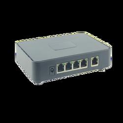 PoE mrežni switch, 5 port RJ-45, 4 PoE, 60W
