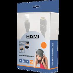 HDMI kabl, 3.0 met, ver. 1.4, 4K, 3D, HEC, HDCP, ARC