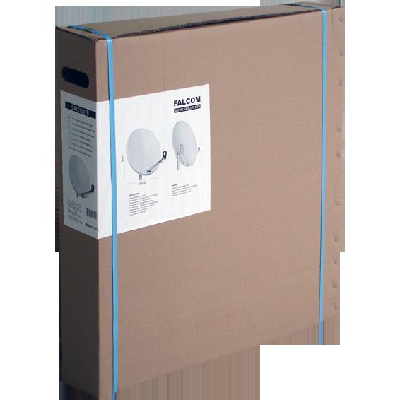 Antena satelitska, 97cm, Triax ledja i pribor, BOX