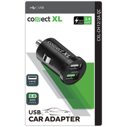 Auto punjač za smartphone, quick, 2xUSB, 2.4A