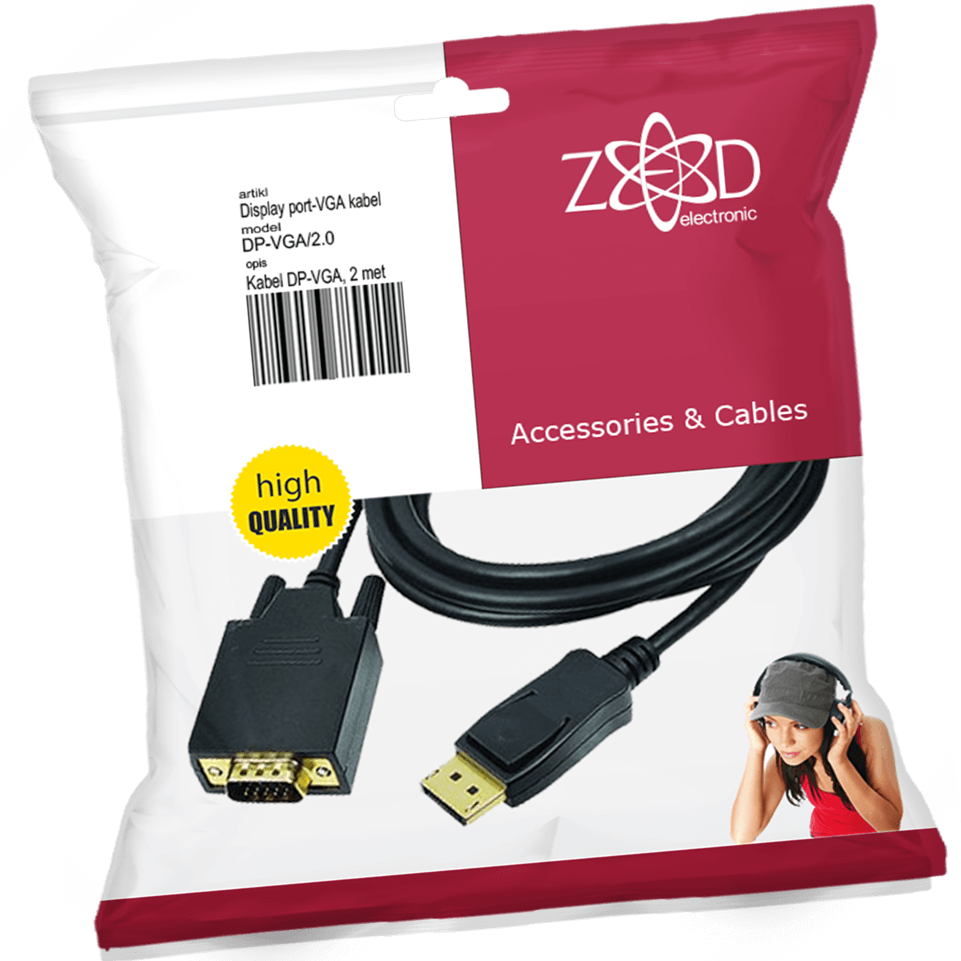 ZED electronic - DP-VGA/2.0