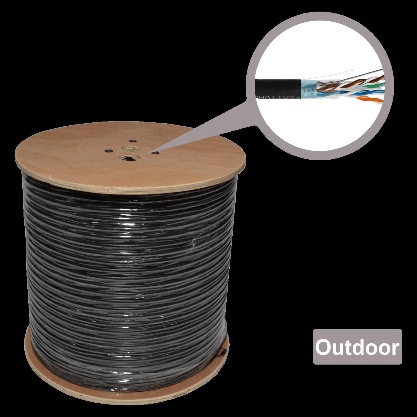 Mrežni FTP kabl, CAT5e, Outdoor, 305 met