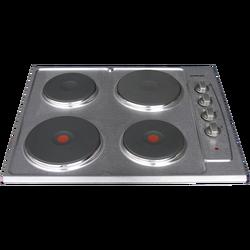 Ugradbena ploča za kuhanje, 4 el. kola, 60 cm