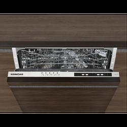 Ugradbena mašina za suđe,12 setova, 5 programa, E