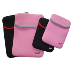 Futrola za tablet 9-10 inch, univerzalna, pink/srebrna