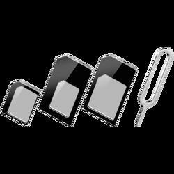 Adapter, nano SIM, 3 in 1