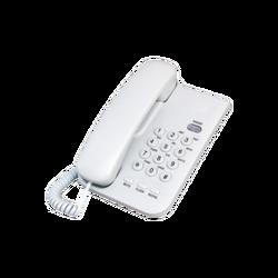 Telefon analogni, stolni, bijeli