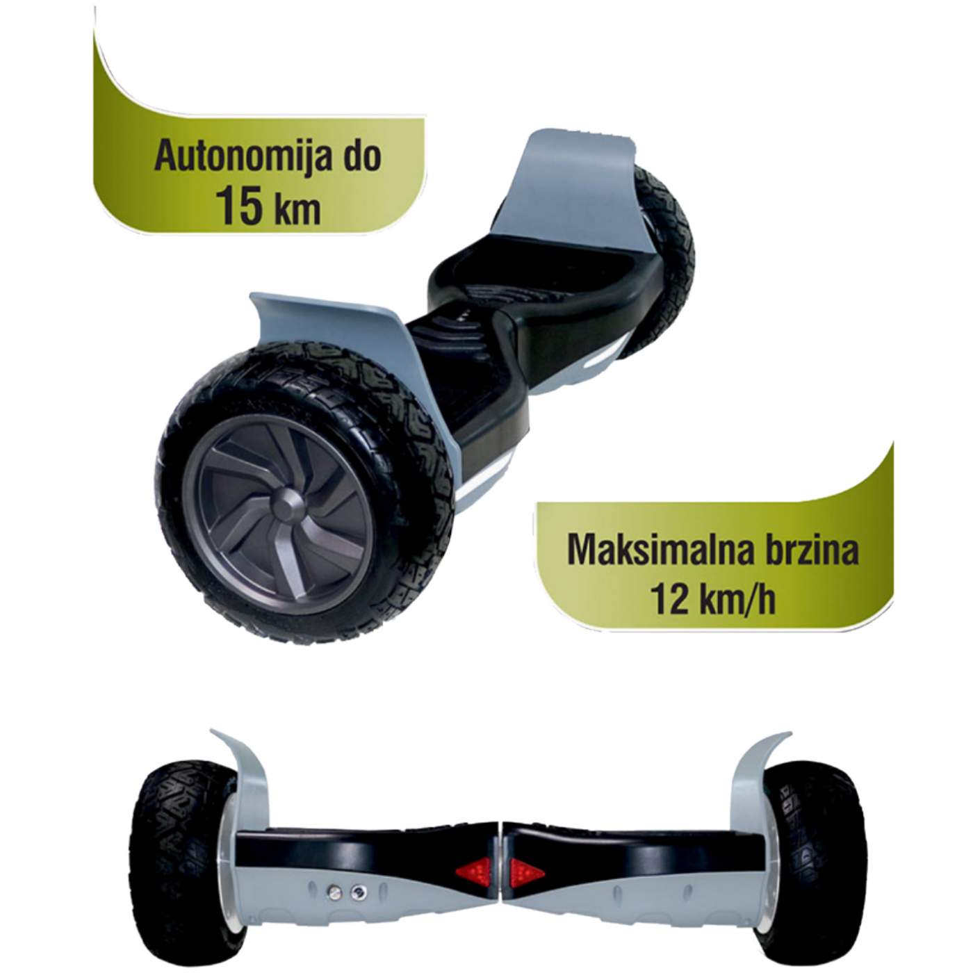 MeanIT - Balance E8 Scooter
