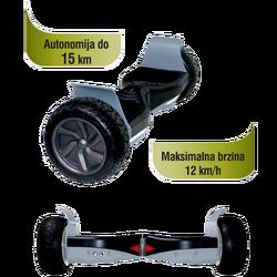 Hoverboard, električni, 20 cm kotači, 12km/h