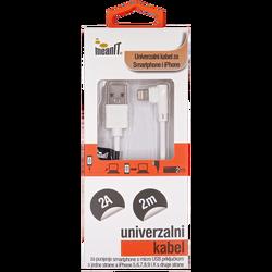 USB kabl za smartphone i iPhone, FLIP, 1A