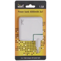 Meanit - POWER BANK 4000mAh, 3IN1