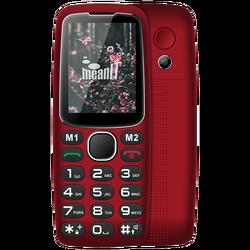 Telefon mobilni, 2.4 inch zaslon, BT, SOS tipka, crvena