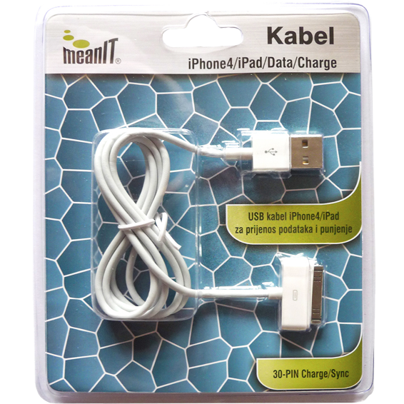 MeanIT - KABEL ZA IPHONE 3 / 4