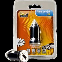 Auto punjač za smartphone, 5V / 1A , USB