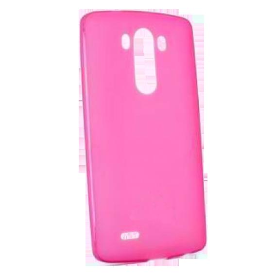 Futrola za mobitel LG G3, silikonska, pink