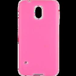 Futrola za mobitel Samsung S5/G900F slim, silikonska, pink