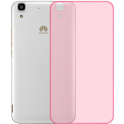 Futrola za mobitel Huawei Y6, silikonska, pink