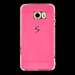 Futrola za mobitel Samsung S7 edge, silikonska, pink