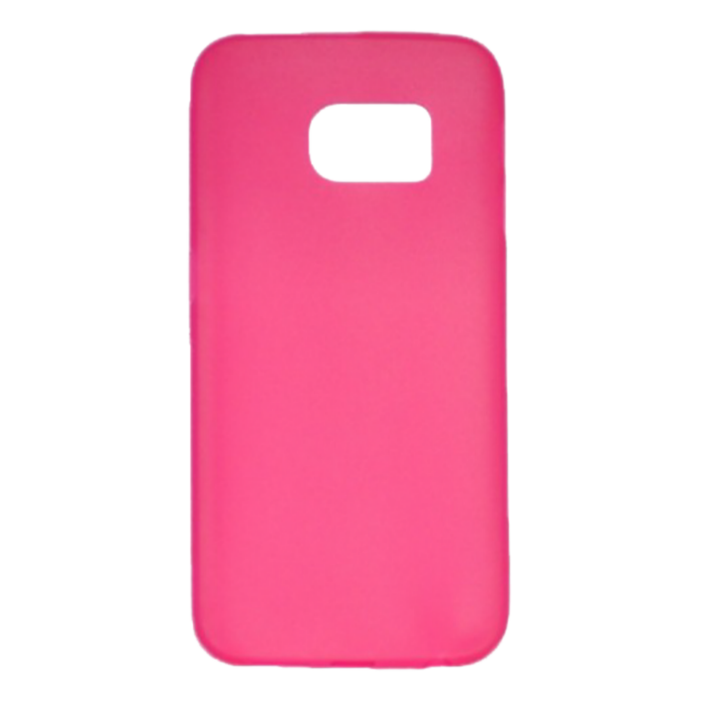 Futrola za mobitel Samsung S6 edge, silikonska, pink