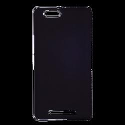 Futrola za mobitel Lenovo Vibe C, silikonska, crna boja