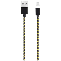 Platoon - USB DATA KABEL  METAL MAGNETIC