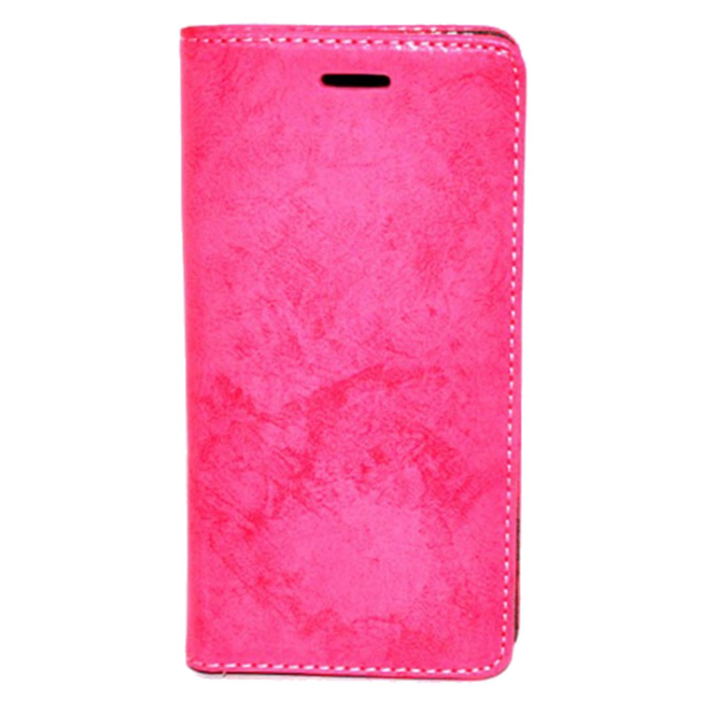 Futrola za mobitel Samsung J7 2016, FLIP retro, crvena