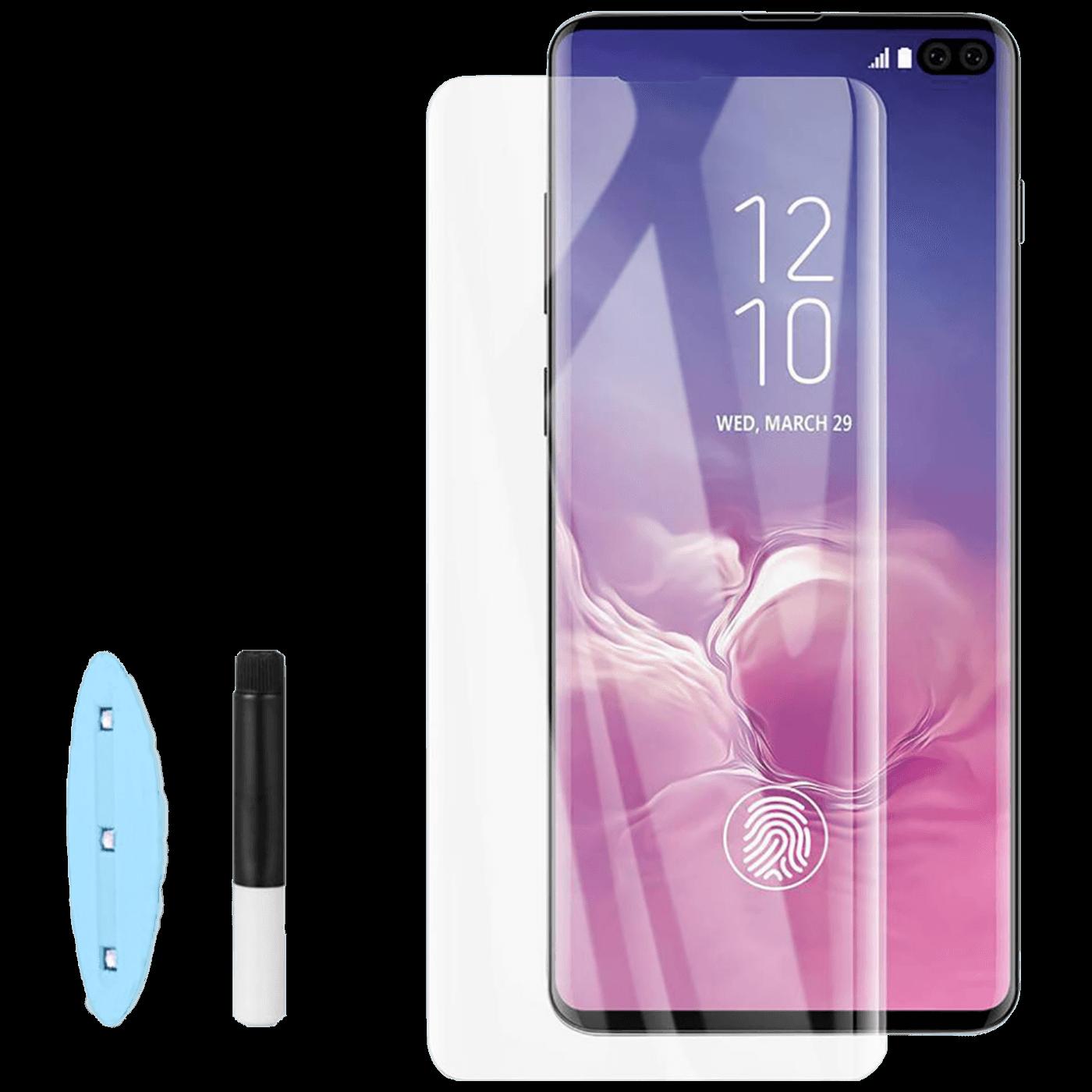 Zaštitno staklo za Samsung Galaxy S10+ UV lampa+ ljepilo