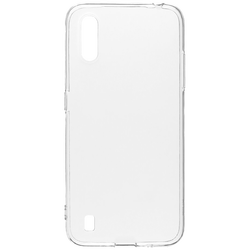 Futrola za mobitel Samsung A01, silikonska, transparent