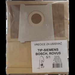 Vrećice za usisavač 5/1, Siemens, Bosch