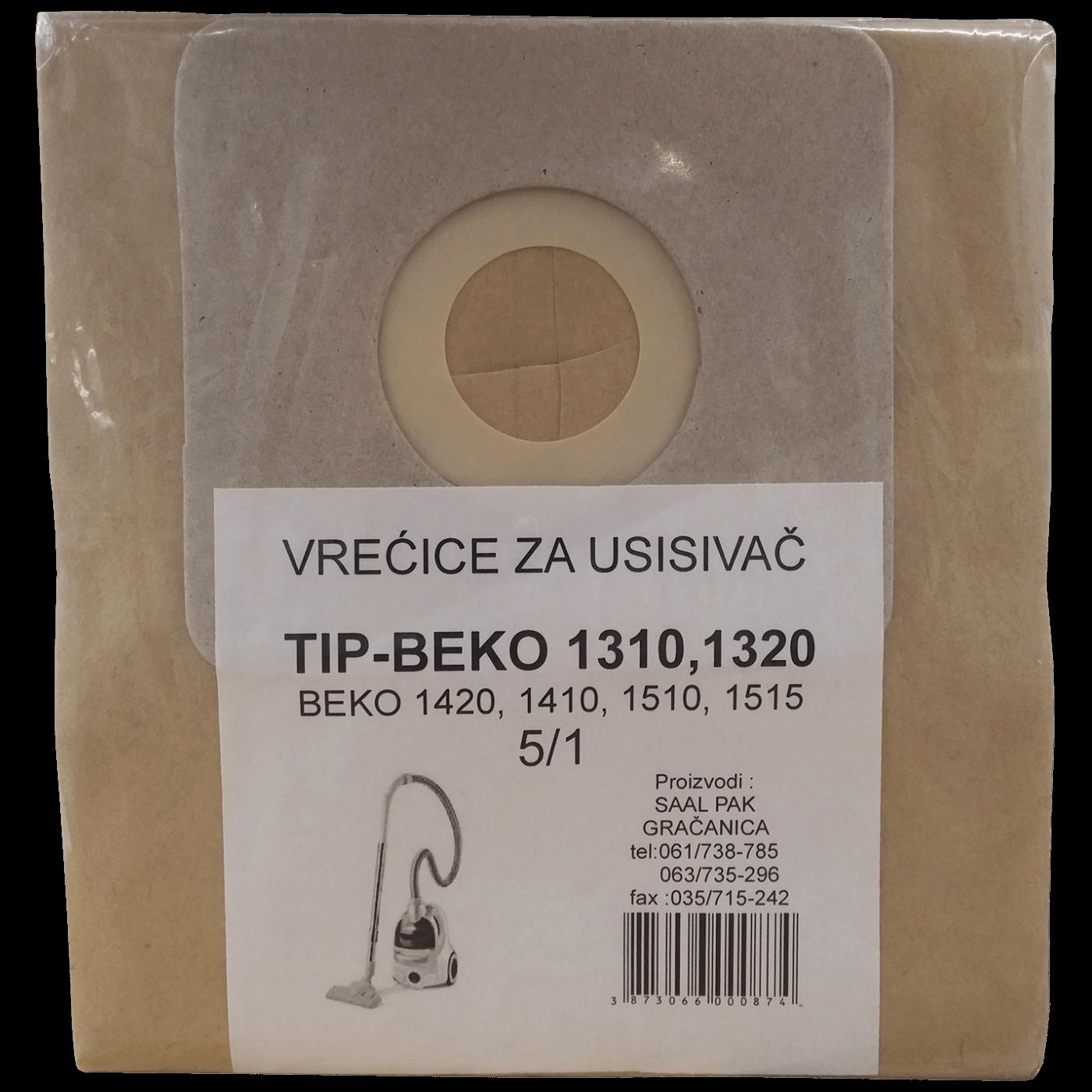 Vrećice za usisavač 5/1, Beko 1310