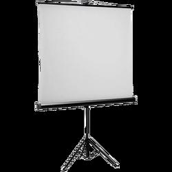 Platno za projektor, 200 x 200, stalak