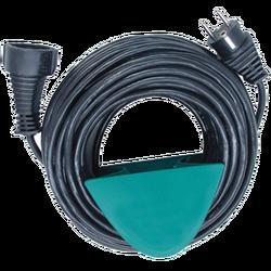 Produžni strujni kabl 1 utičnica, 10m, boja crna