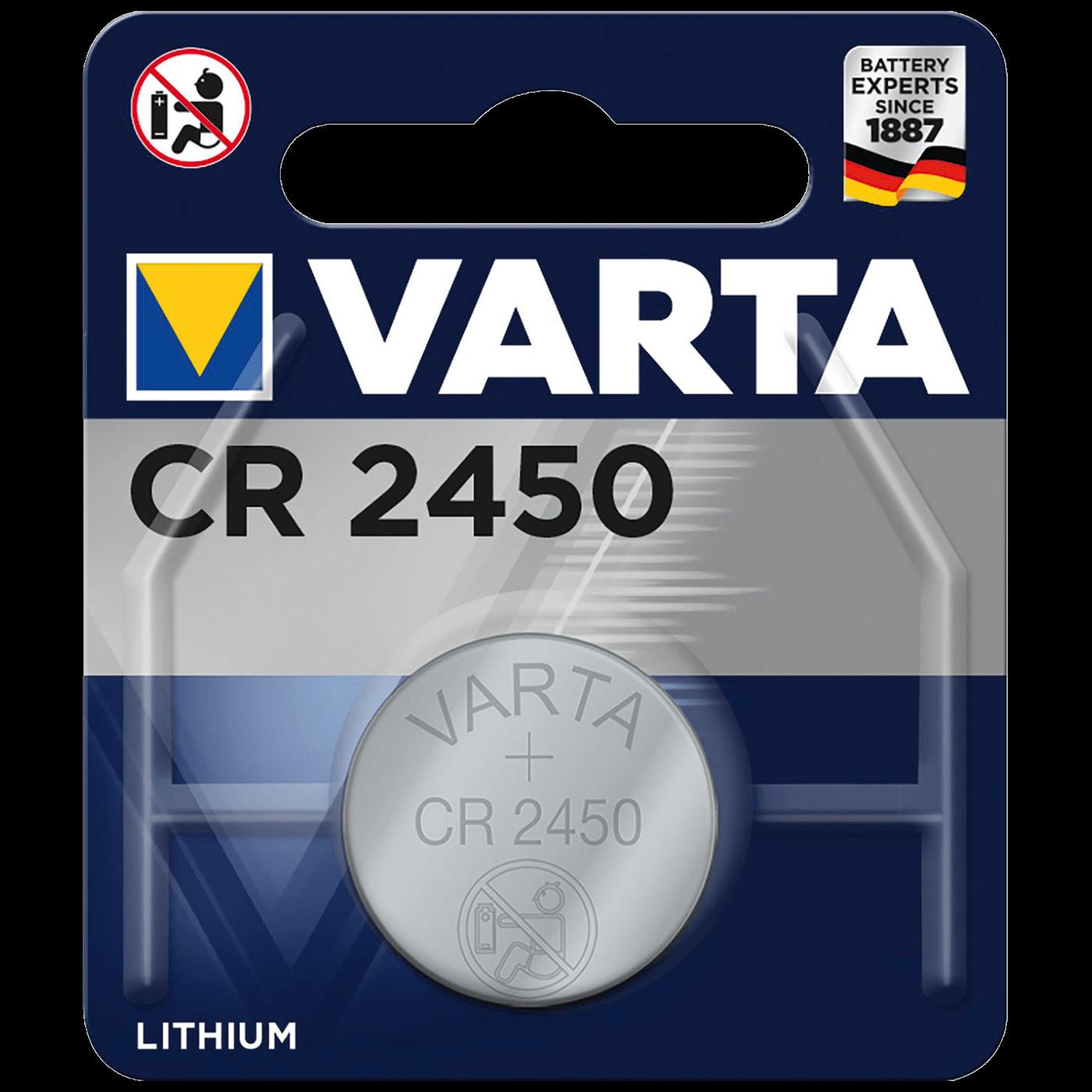 Baterija litijska, CR2450, 3 V, dugmasta, blister 1 kom