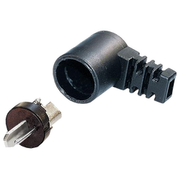 Utikač za zvučnik DIN 41529-M kutni