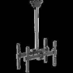 Nosač za 2 TV prijemnika 37 inch- 70 inch, 2 x 45  kg, stropni