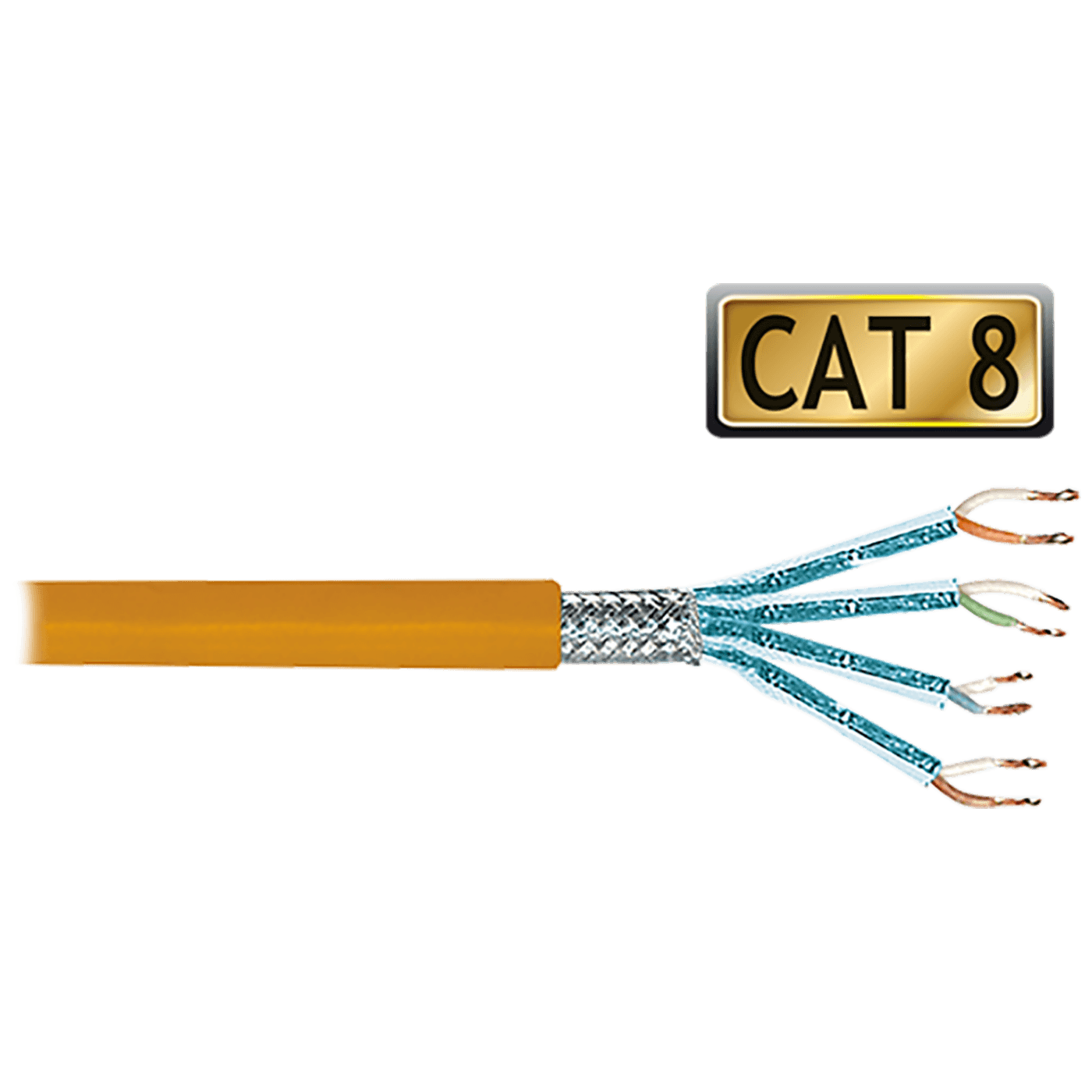 Mrežni S/FTP kabl, CAT8, 100 met, AWG23