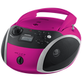 Grundig - GRB 3000 BT Pink / Srebrena